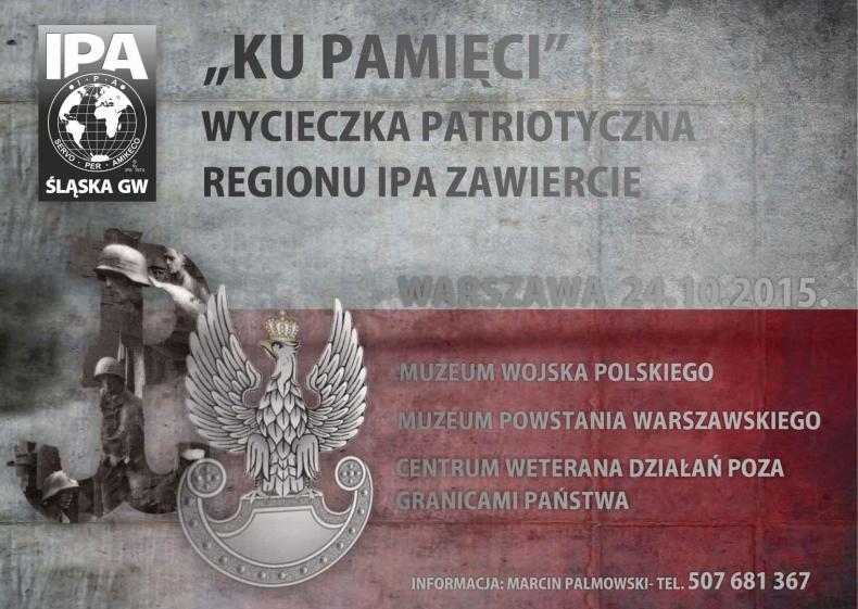 KU PAMIĘCI - wycieczka patriotyczna IPA Zawiercie