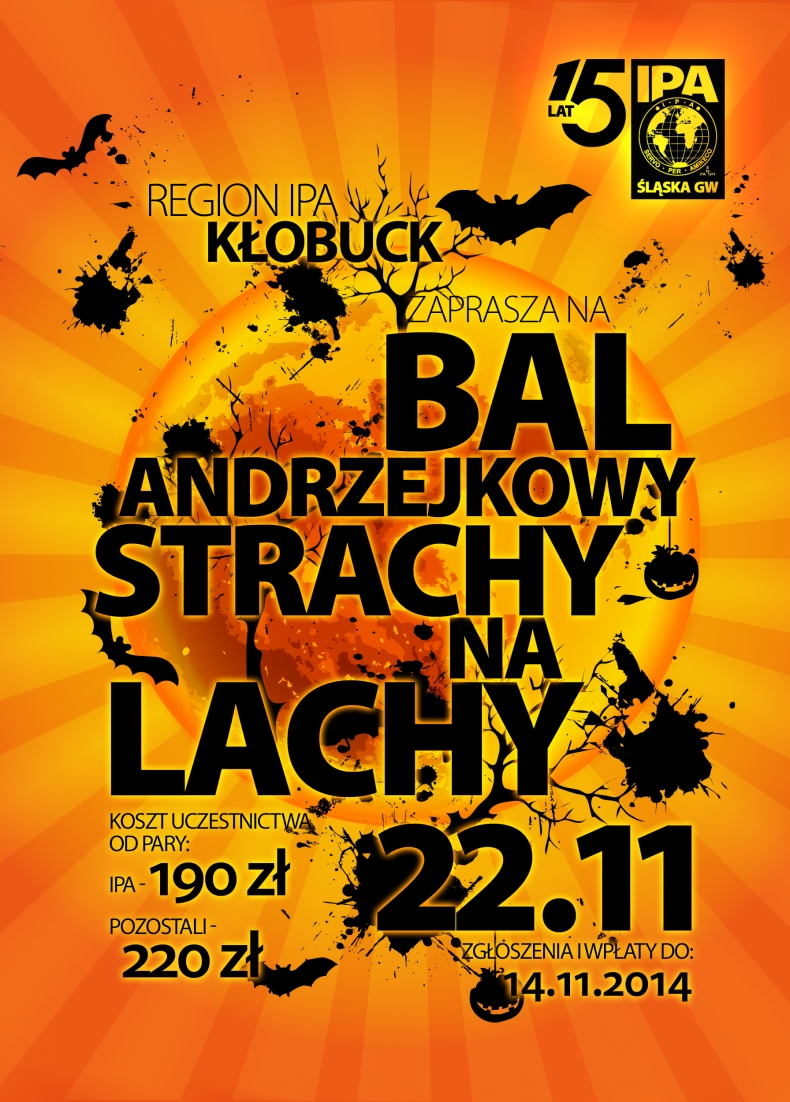 Bal Andrzejkowy - Strachy na Lachy
