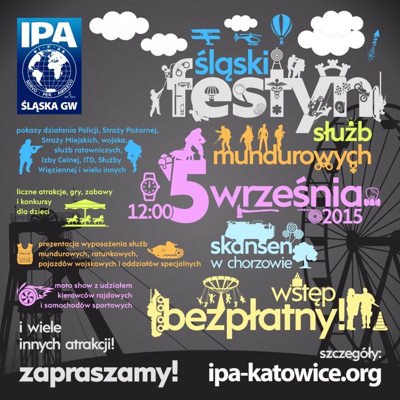 Śląski Festyn Służb Mundurowych IPA 2015